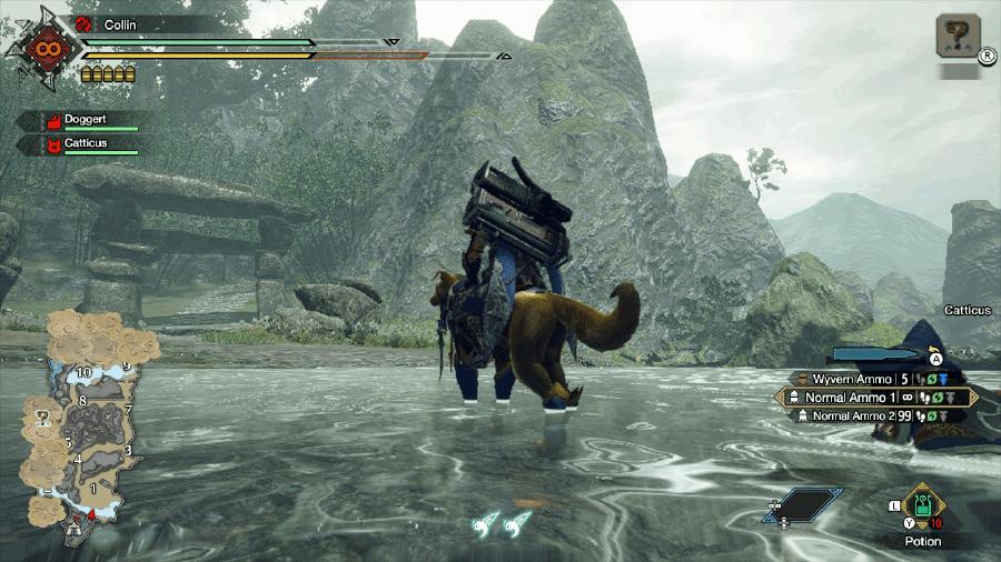 Monster Hunter Rise Shrine Ruins