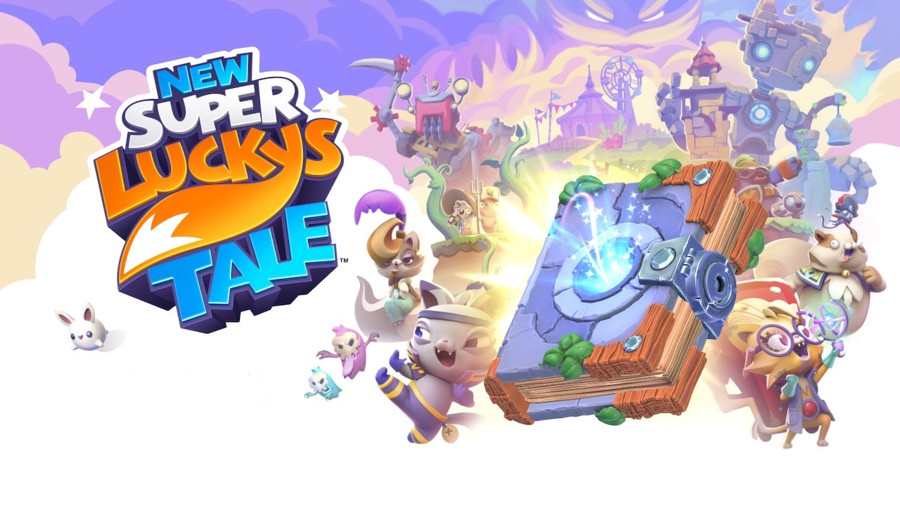 New Super Lucky's Tale Logo Switch