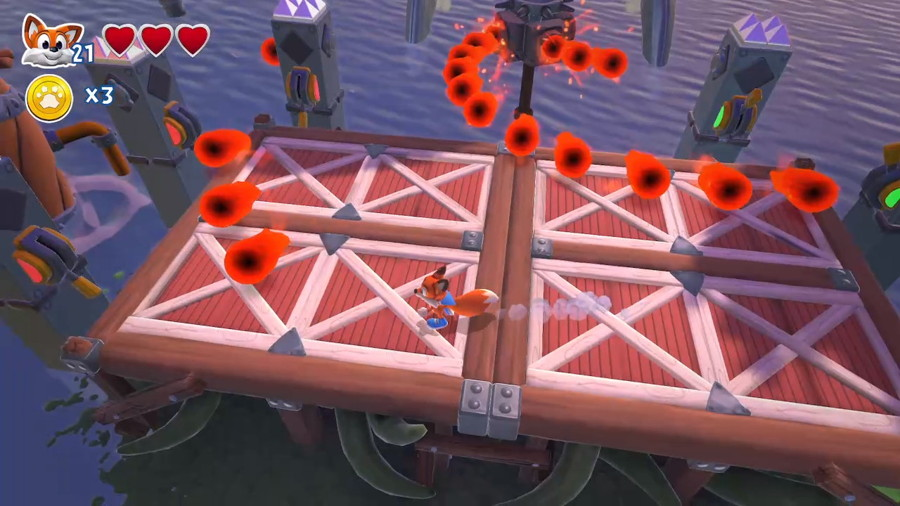 New Super Lucky's Tale Screenshot Switch