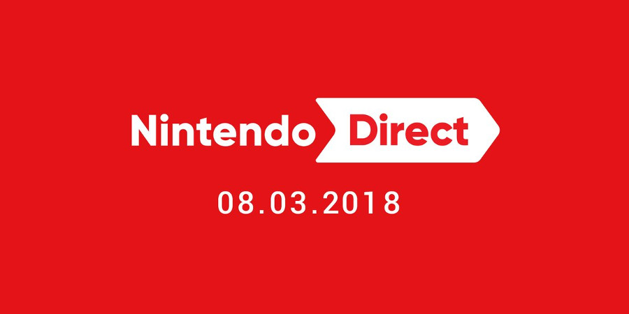 A Nintendo Direct is Coming March 8