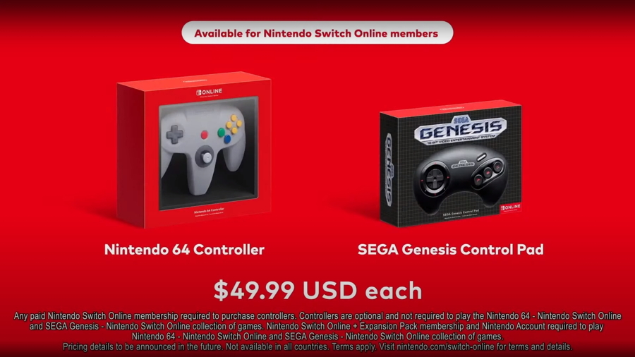 Nintendo Switch Online Controllers
