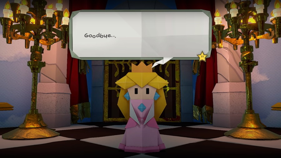 Paper Mario Oragami King Screenshot