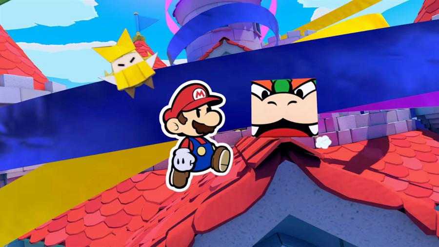 Paper Mario Oragami King Screenshot