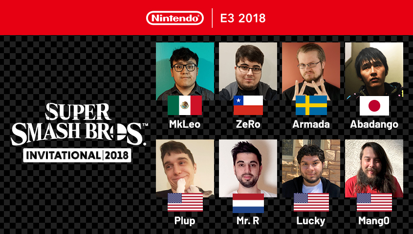 Smash for Switch E3 Invitational Roster Revealed