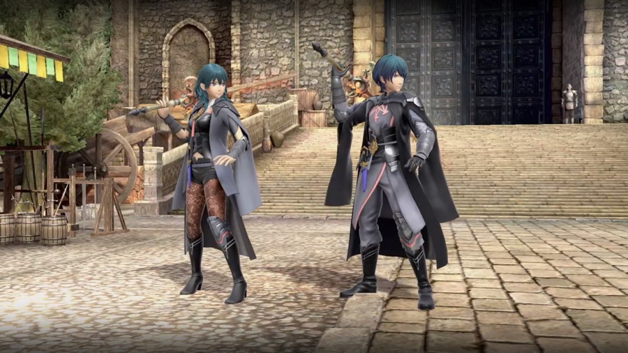 Byleth Smash Ultimate Screenshot