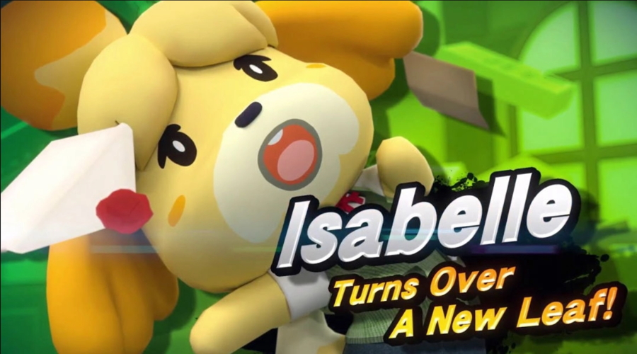 Super Smash Bros. Ultimate Isabelle