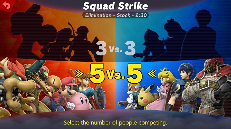 Smash Game Modes