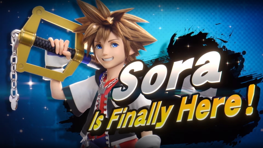 Sora from Kingdom Hearts is the Final Smash Ultimate DLC Fighter