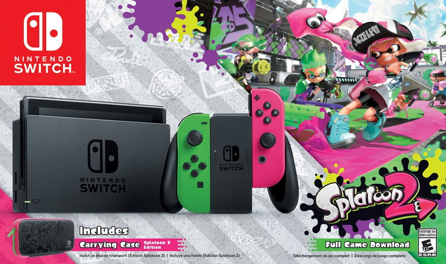 Walmart Exclusive Splatoon 2 Switch Bundle is Coming to the States