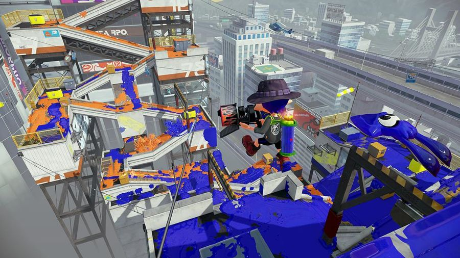 Splatoon - Moray Towers