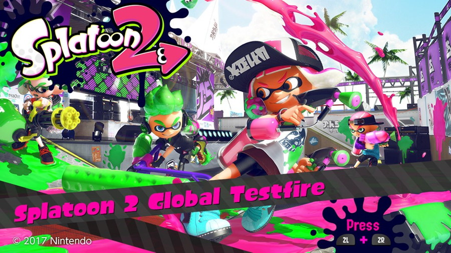 Splatoon 2 Global Testfire Times Announced