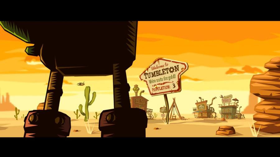 Steamworld Dig Switch Screenshot