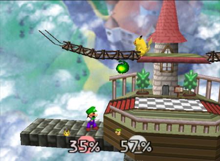 Luigi Smash 64
