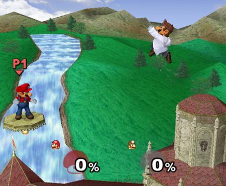 Dr. Mario Smash Bros Melee