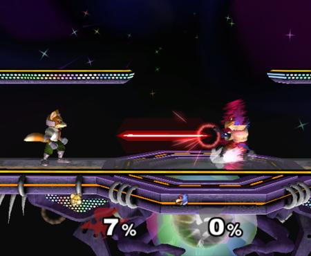 Falco Smash Bros Melee