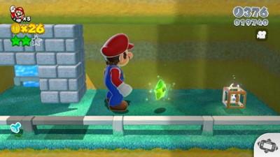 Super Mario 3D World - World 1 Green Stars