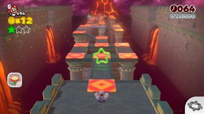 Super Mario 3D World - World Castle Green Stars