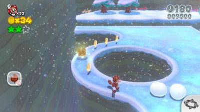 Super Mario 3D World - World 3 Stamps