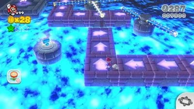 Super Mario 3D World - World Castle Stamps