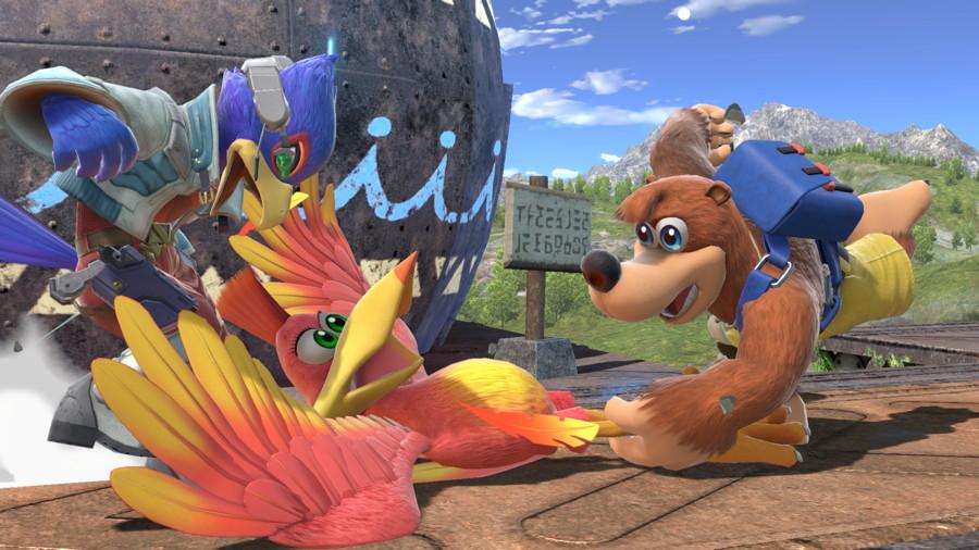 Banjo Kazooie Smash Ultimate