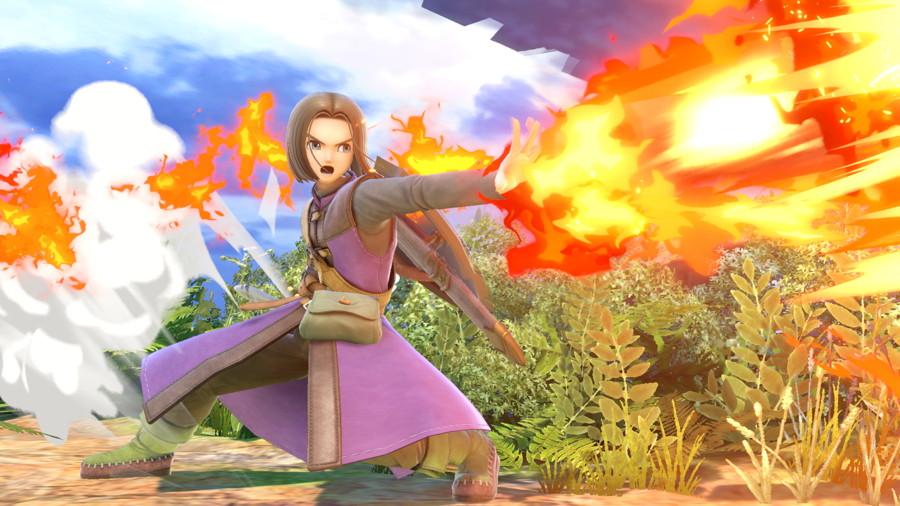 The Hero Dragon Quest Smash Ultimate