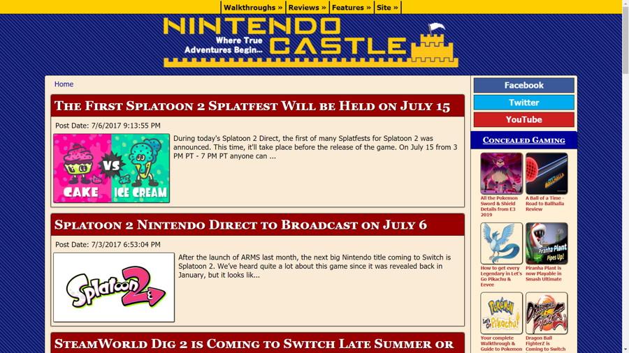 Nintendo Castle Version 7